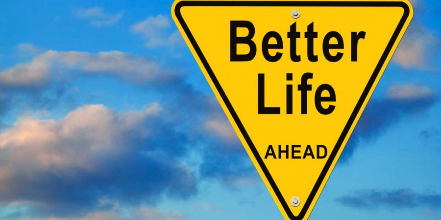 Sign with Better Life Ahead